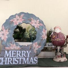トールペイント/Christmas/サンタがまだ来ない😓 Merrychristmas  みなさん…