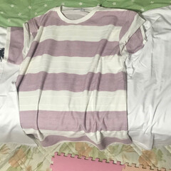 ファッション 最近、シンプルで、可愛いTシャツが お気…(1枚目)