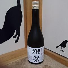 日本酒 獺祭さん こてっちゃんで🍶