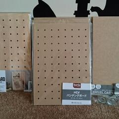 maca home/木工用ボンド/ゴミ箱/DIY/ハンドメイド/ダイソー/... 我が家の台所のゴミ箱、結構動かすのでビス…