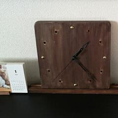 時計DIY/時計キット/時計/DIY/住まい/暮らし ム−ブメントを購入して時計を作って見まし…