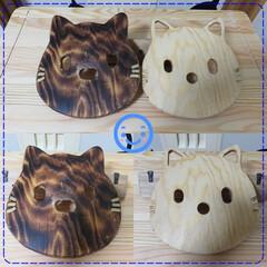 鍋敷き/ネコ/猫/DIY ネコの鍋敷きです^^