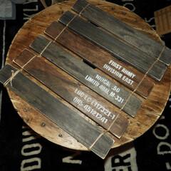 焼網でラック/スリッパラック/ステンシル/黒板塗料/黒板ボード/ベンチ収納/... 記録用 ベランダガーデングッズ色々〜
