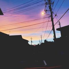 自然 とても不思議な空に出会いました( ˘͈ …