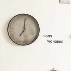 壁掛け時計DIY/セメントDIY/セメント/壁掛け時計/インテリア/時計/... コンテストに応募です!  スリーコインズ…
