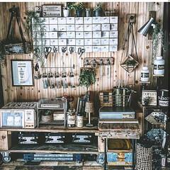 百均DIY/ホームセンター/リフォーム/DIY/雑貨/100均/... 作業道具コーナー(1枚目)