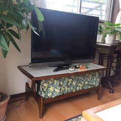 テレビボード テレビボード変えました! 元々はテーブル…