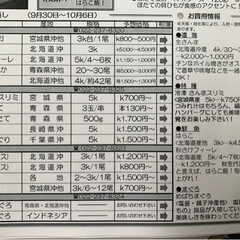 水産🐟情報紙/仙台市場情報紙 おはょ━ヽ(`・ω・)ノ━ぅ!!  …(3枚目)