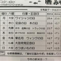 仙台市場情報紙/水産🐟情報紙 ♬部屋とYシャツと私💕   愛するあな…