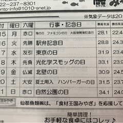 水産🐟情報紙/仙台市場情報紙 梅雨寒の朝🐓仙台中央卸売市場から おは…