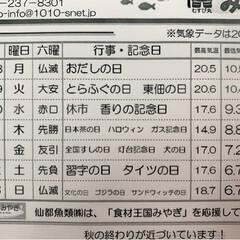 水産🐟情報紙/仙台市場情報紙 8度と寒い早朝に 年末ムードを感じる仙…