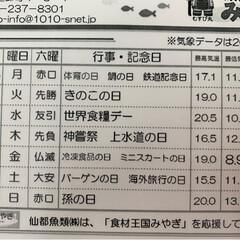 水産🐟情報紙/仙台市場情報紙 今日は🍄キノコの日🍄 近くのスーパーで…