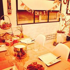 クリスマス/料理男子/クリスマスツリーdiy/スペアリブ/チーズフォンデュ/ファミリーパーティー スペアリブ🥩とチーズフォンデュ作りました…