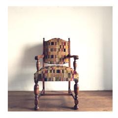 椅子 /家具/アンティーク/インテリア アンティークの椅子 1脚  我が家にお迎…