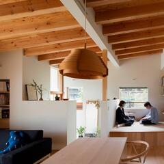 インテリア/建築/住まい/音楽/棚/収納/... 趣味の音楽や読書を楽しむ小上がりコーナー…