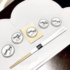 モノトーン好き/シンプルデザイン/箸置き/箸/アウトレット/プチプラ雑貨/... フランフランのアウトレットで見つけた可愛…