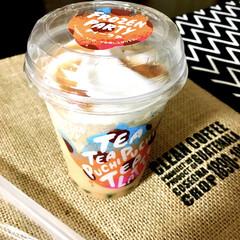 新感覚/冷凍食品/おすすめ/美味しい/ティーラテ/飲むスイーツ/... ローソン新商品スイーツを発見♡  アイス…(1枚目)