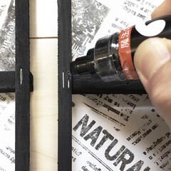 小技/塗るだけ/タッカー/目隠し/マジックペン/DIY/... DIYの小ワザ♡  DIYの際 タッカー…