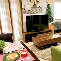 ブラインドカーテン/ナチュラルキッチン/クリスマスカラー/建売住宅/壁紙DIY/コラベル/... クリスマスがやってきた!コンテストに参加…(1枚目)