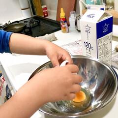 よく出来ましたでしょう/1歳/女の子ママ/男の子ママ/年中さん/4歳/... ママぁ〜ホットケーキ食べたい! と息子(…