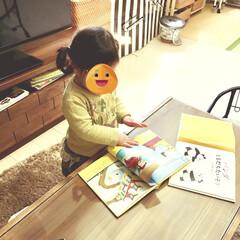 暮らしを楽しむ/親子で楽しめる/図書館/貸し出し/絵本の世界/男の子ママ/... 自作した絵本棚に 子どもたちのお気に入り…