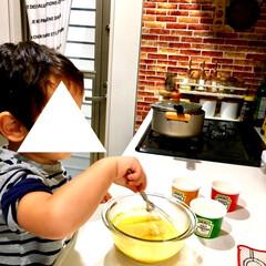 簡単レシピ/甘党/お菓子作り/手作りおやつ/手作り/クッキング/... ハロウィンが近付くと毎年作るのが かぼち…(3枚目)