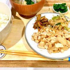 朝ごはん/脱マンネリ/朝食/魚料理/生姜焼き/ビンチョウマグロ/... 朝食に魚を出す際は、大体塩焼き。 マンネ…