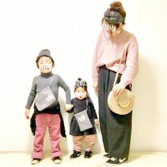 女の子ママ/男の子ママ/1歳/4歳/ピンクコーディネート/カラーリンク/... 春の一枚コンテストに参加します♪  各地…