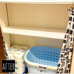 シンプルインテリア/ホワイトインテリア/ホワイト化/プチDIY/簡易棚/デッドスペース収納/... 収納棚を見直した時に もう一段棚があれば…