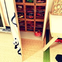 木製仕切りBOX/木製仕切りボックス/木製仕切りケース/セリアリメイク/女の子ママ/男の子ママ/... わたしのDIYコンテストに参加します♪ …(2枚目)