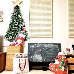 クリスマスプレゼント/クリスマスインテリア/おうち/フォロー大歓迎/クリスマス/クリスマスツリー/... クリスマスがやってきた!コンテストに参加…