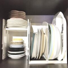 デッドスペース活用/小皿収納/豆皿/立てる収納/n型本立て/収納グッズ/... 嬉しいです♡  どこかでピックアップされ…