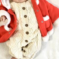 サンタコス/サンタクロース/ネット通販/ベビーファッション/カバーオール/ベビー服/... 10月に産まれた3人目が 早いもので明日…