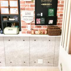 建売住宅/原状回復/ラブリコ/絵本棚DIY/絵本棚/デッドスペース活用/... キッチンカウンター下の デッドスペースに…(3枚目)