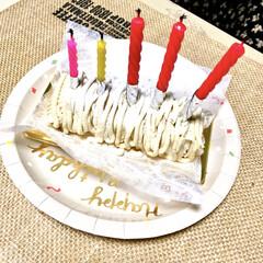 不二家/モンブラン/感謝/バースデー/誕生日ケーキ/誕生日/... 私ごとですが… 昨日、誕生日でした。  …