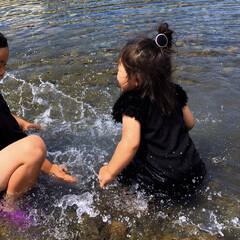 夏らしく/こどものいる暮らし/女の子ママ/男の子ママ/仲良し/兄妹/... 夏だ!水遊びしよう!!  …ということで…