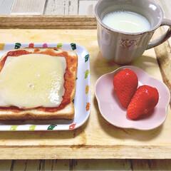 さくら雑貨/春色/いちご/ピザトースト/朝ごパン/プチプラ/... 最近購入したおすすめ100均グッズ♡  …