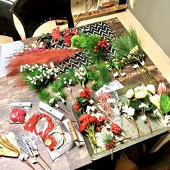 ピック/アートフラワー/お正月雑貨/ナチュキチ雑貨/キッチンキッチン/ナチュラルキッチンアンド/... お正月飾りを手作りするなら  ナチュラル…
