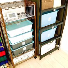 収納ケース/収納術/おもちゃ収納/スッキリ収納/シンプルインテリア/衣替え/... 100均には本当に便利な 生活雑貨が沢山…