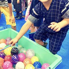 おでかけワンショット/シンプルデザイン/手作り子供服/甚平/年中さん/幼稚園児/... 昨日は息子(4)の幼稚園の夏祭りでした。…