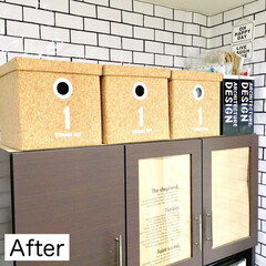 収納ボックス/デッドスペース活用/デッドスペース/食器棚の上ディスプレイ/キッチン背面/棚上/... 本日、棚上活用アイデアの記事が公開になり…