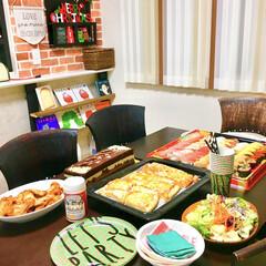 サラダ/ガーリック/骨付きチキン/クリスマスケーキ/ピザ/寿司/... クリスマスがやってきた!コンテストに参加…