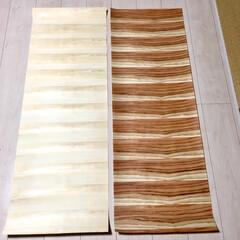 壁紙リメイク/壁紙DIY/木の香り/ヒノキ/スギ/木の壁紙/... じゃじゃんっ!  これなーんだ?  正解…