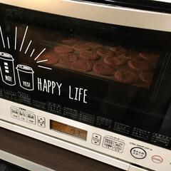 動物クッキー/クッキースタンプ/フライングタイガー/こどものいる暮らし/モノトーンインテリア/オーブンレンジ/... バレンタインの練習用に、子どもたちと 型…