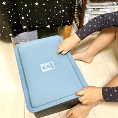 100均DIY/100均リメイク/寝室/身支度/お支度コーナー/子供服収納/... 昨日、こちらの収納棚アイデアが ピックア…(2枚目)