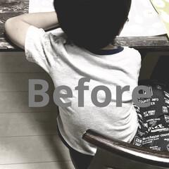年中さん/男の子ママ/食卓イス/ダイニングテーブル/リビングダイニング/こどものいる暮らし/... 5歳の息子です。  大きめ(112㎝)な…