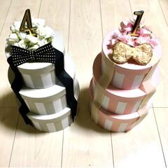 誕生日ケーキ/女の子ママ/男の子ママ/クレイケーキ風/クレイケーキ/インスタ映え/... わたしのDIYコンテストに参加します♪ …