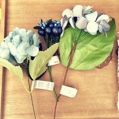 Vita/ナチュラルキッチンアンド/アートフラワー/ベリー/アンティーク風/造花/... フェイクフラワーを使った ハンドメイドや…
