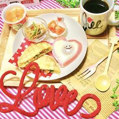 朝ごパン/記念日ごはん/結婚記念日/LIMIAごはんクラブ/フォロー大歓迎/わたしのごはん/... 今日は結婚記念日です。  ▼MENU▼ …
