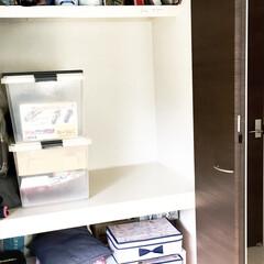 こどものいる暮らし/男の子ママ/プラレール収納/おもちゃ収納/シンプルな暮らし/衣装ケース/... 少し前に、押入れ収納の見直しをしました。…